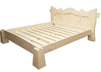 Кровать из натурального бука