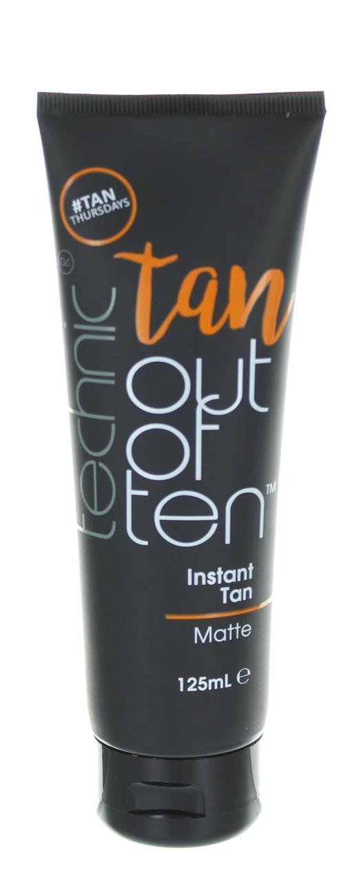 Гель-автозагар с матирующим эффектом Technic Tan Out Of Ten Instant Matte