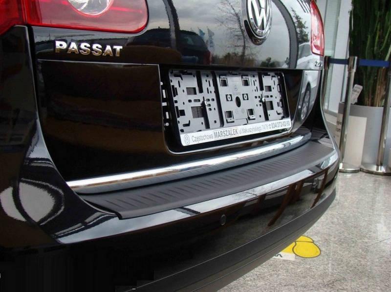 N-0010 rear bumper protector Volkswagen Passat B6 Variant 2005-2010