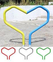 """Велопарковка """"Herz"""" Анкерне кріплення + порошкове фарбування"""