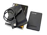 Внешний пластиковый карман HDD 2.5 USB 2.0 Gran-X, фото 3