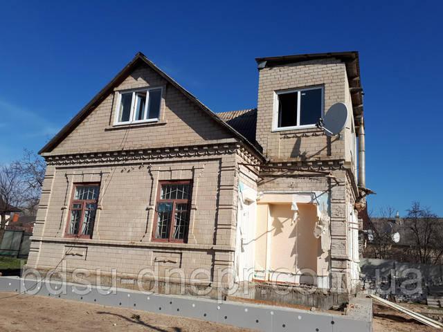Двухэтажный дом под снос