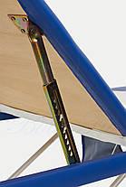 Массажный стол BodyFit, 3 сегментный,2-х цветный,алюминьевый, фото 2