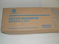 IU211 M Magenta Drum Unit C203/253, 55/75t, оригинал Konica Minolta