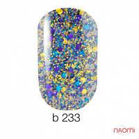 Гель-лак Naomi Brilliant Collection 233, 6 мл