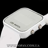 Годинник спортивні LED WATCH (white), фото 2