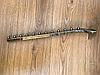 Кронштейн(торговая флейта) квадратная настенная с изгибом.