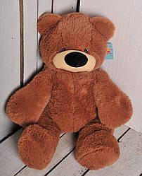 Мягкая игрушка: Плюшевый медведь Бублик, 55 см, Коричневый
