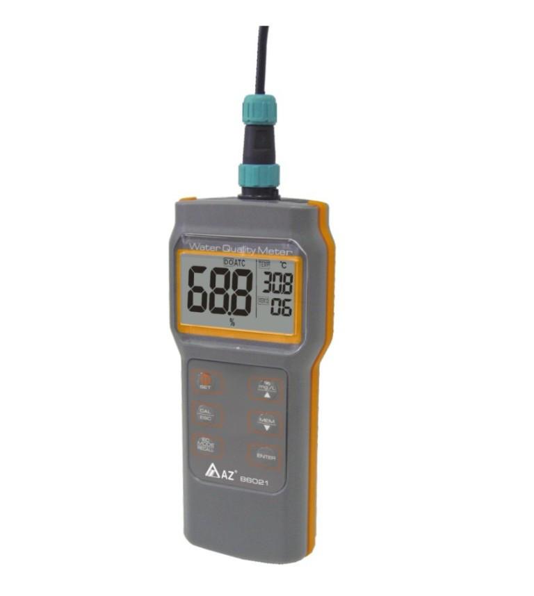Аналізатор якості водних розчинів AZ-86021 (pH/DO)