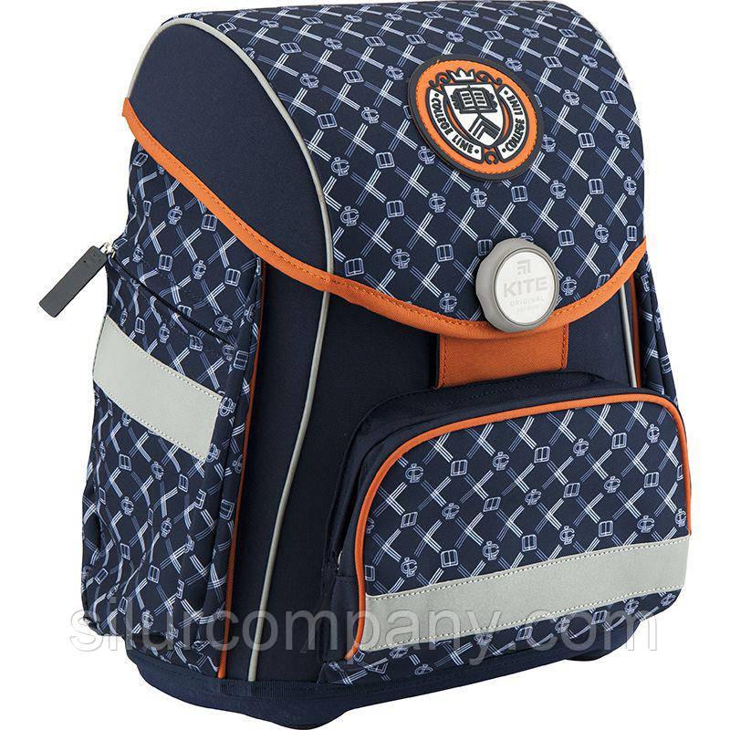 24f5b907d412 Рюкзак для мальчика портфель школьный каркасный Kite K18-580S-1, фото 1