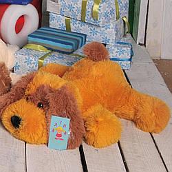 Мягкая игрушка: Собачка Шарик, 75 см, Медовый