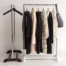 Стойка для одежды Аккорд (металл/дерево), фото 2