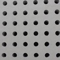 Кнауф Акустика, круглая перфорация, 1998мм.*1188мм.*12,5мм., фото 1