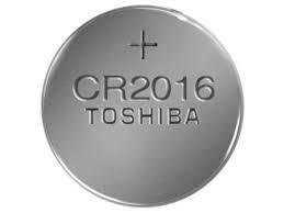 Дисковая батарейка TOSHIBA Lithium Cell 3V  CR2016