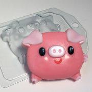 Пластиковая форма Свинка - пухляшка
