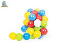 """Набор мячиков для сухих бассейнов 60 шт, """"8 см"""