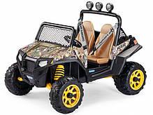 Детский Электромобиль Peg Perego Polaris RZR 900 Camouflage 12V, мощность 340W, фото 3
