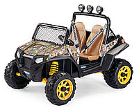 Детский Электромобиль Peg Perego Polaris RZR 900 Camouflage 12V, мощность 340W