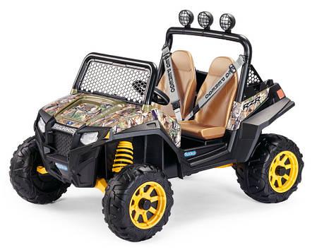 Детский Электромобиль Peg Perego Polaris RZR 900 Camouflage 12V, мощность 340W, фото 2