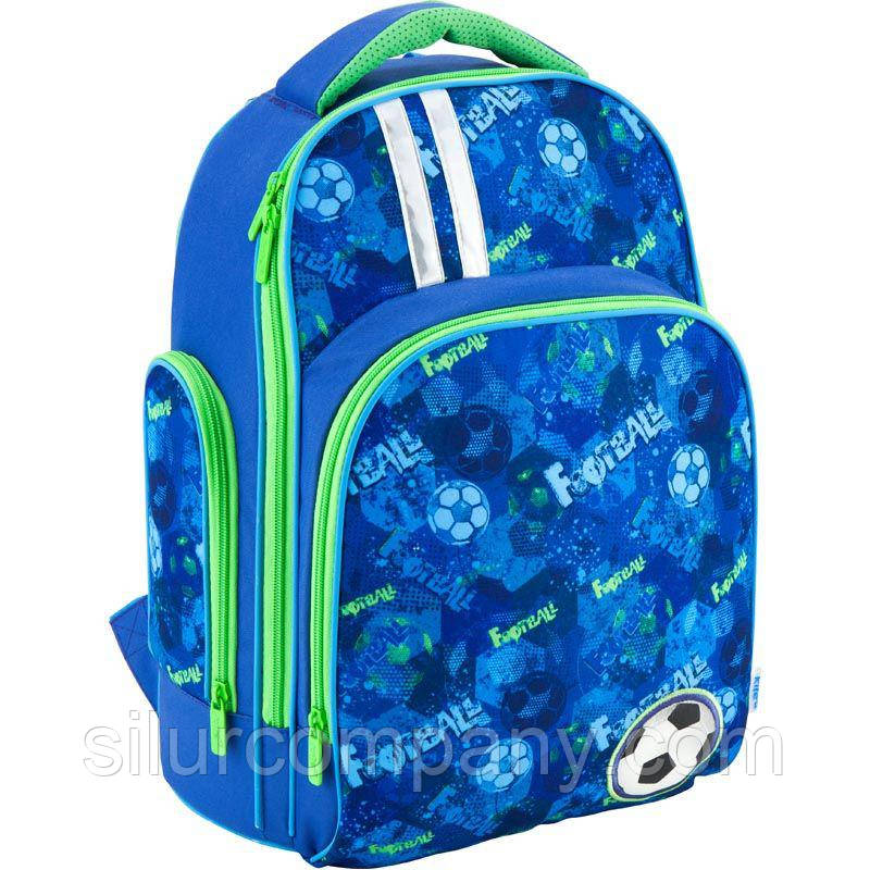 1a6a979e59a0 Рюкзак школьный для мальчика Kite Football K18-706M-1 - Интернет магазин