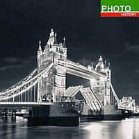 Фотошторы черно-белый Тауэрский мост
