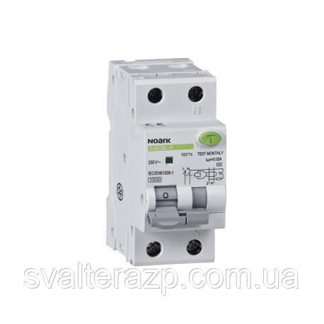 Дифавтомат 1PN C10 30mA EX9CBL-N, 6 kA, тип АС NOARK