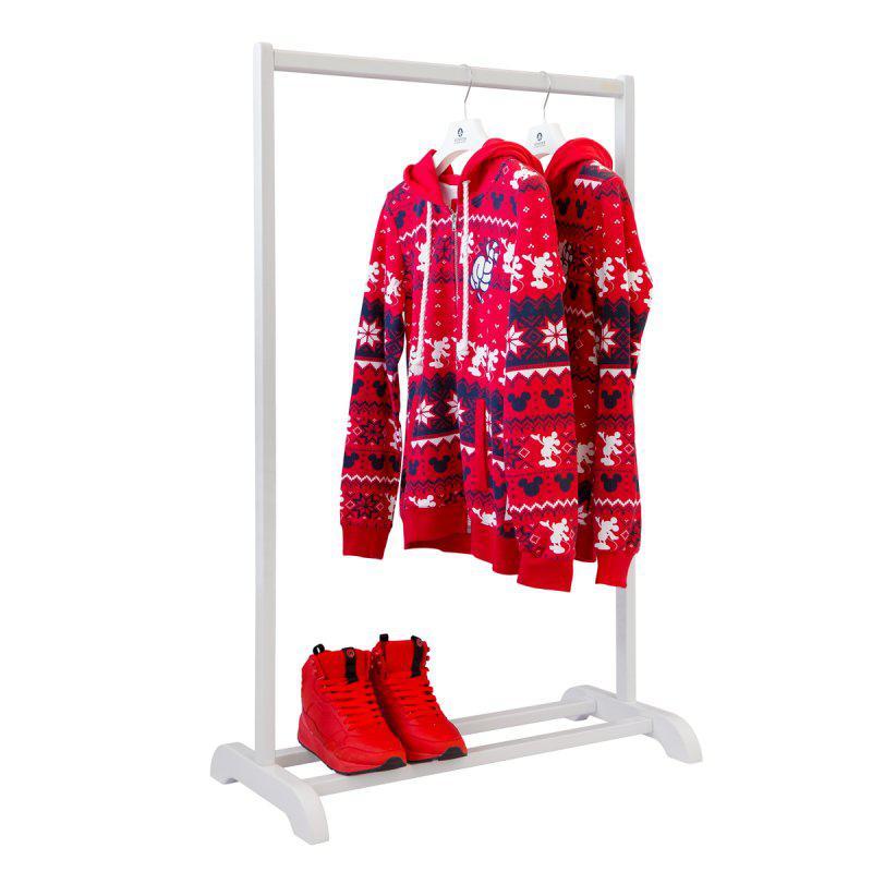 Стойка для одежды деревянная Визит 1