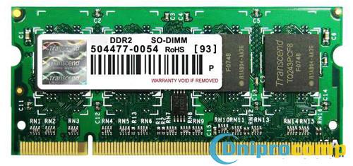 Модуль пам'яті SO-DIMM DDR2 512MB 667MHz в ассорт.
