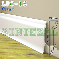 Плинтус из дюрополимера Cezar Elegance LPC-16, H=83 мм.