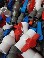 Пластиковые краны для полива