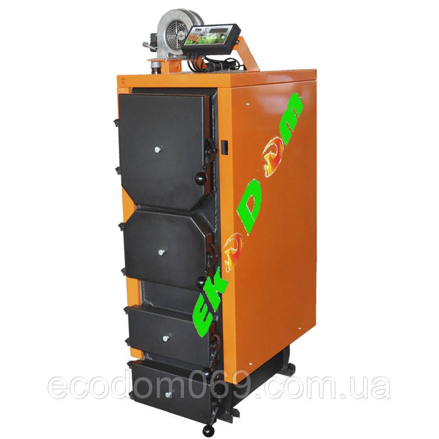 Классический котел на твердом топливе Донтерм 65 кВт