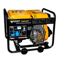 Дизельный генератор Форте FGD6500E3 (4.8 кВт, 380 В)