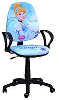 Кресло Поло 50 АМФ-4 Дизайн Дисней Принцессы Золушка - модель подлокотников -4.