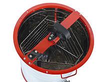 Медогонка 3-х рамкова нержавійка РКС з неповоротними касетами