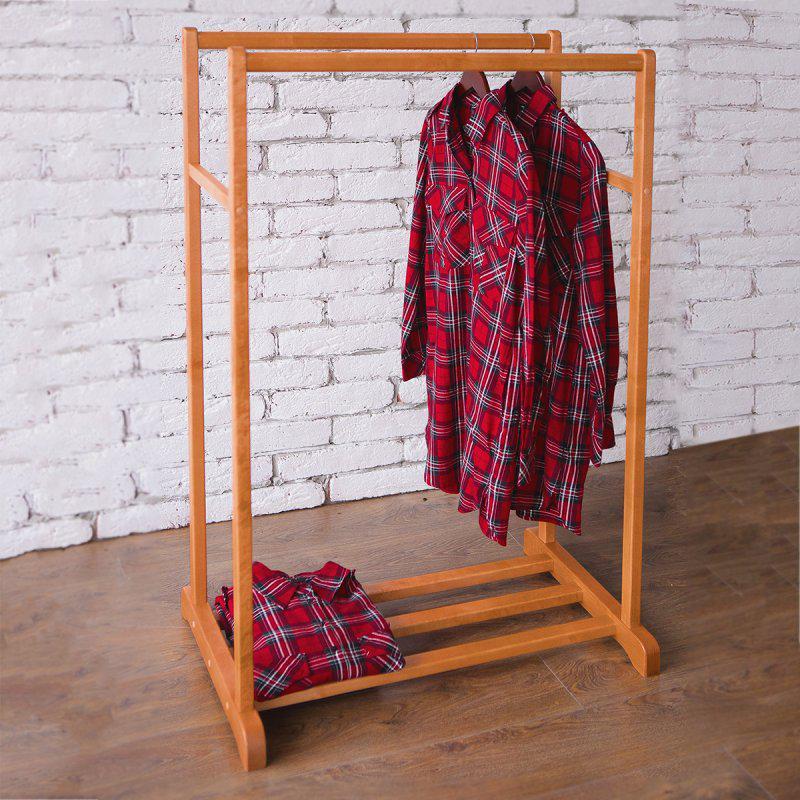 Стойка для одежды Визит 2 (натуральное дерево)