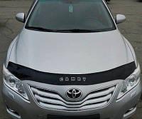 VipTuning Toyota Camry (XV40) '06-11 Дефлектор капота мухобойка