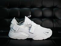 Удобные белые мужские кроссовки в стиле найк хуарачи, кроссовки