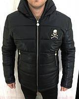 Теплые мужские куртки, пуховики, дубленки