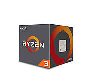 Процесор AMD Ryzen 3 1300X Zen, sAM4, 4 Cores/4 Threads, 3,5 МГц/3,7 МГц, 10 Мб, none integrated gra