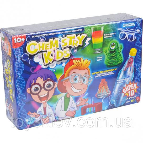 Наборы большие для опытов Chemistry Kids Danko Toys Chk-01-01