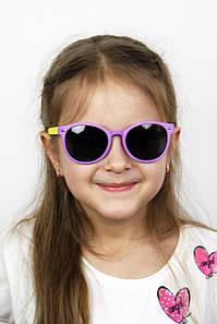 Солнцезащитные детские очки Фауна фиолетовые