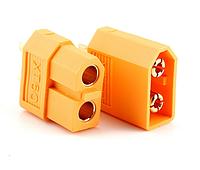 XT60 M+F, Разъем питания 2 pin в нейлоновом корпусе (комплект)