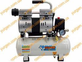 Безмаслянный компрессор на 9 литров Dolphin DZW550AF009