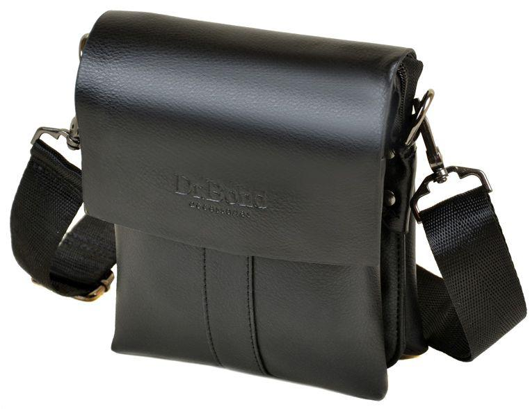 1a067218985d Мужская сумка-планшет DR.BOND 202-0, черная - SUPERSUMKA интернет магазин