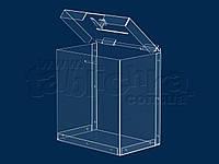 Ящик для проведения акций 6,0л 200х230х135мм из акрила 1,8мм, фото 1