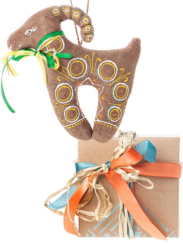 подарочный набор Коза солнечная