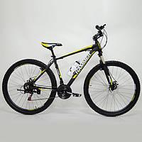 """Спортивный велосипед 29"""" HAMMER Черно-Желтый (black-yellow), фото 1"""