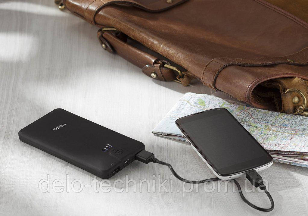 Power Bank Amazon Basics, внешний аккумулятор