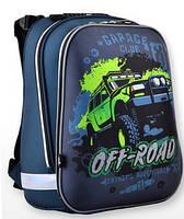 Рюкзак шкільний каркасний для хлопчика 1 ВЕРЕСНЯ H-12 Off-road 554587 38 * 29 * 15 см