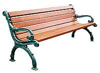 Лавка садово парковая Декор